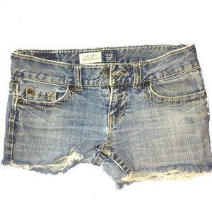 Aeropostale Distressed Jean Shorts 6/30